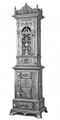 Prunkofen 152 -  Historismusofen gegossen um 1850