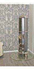 Art-Deco-Ofen 342 - Säulenofen gegossen um 1920, in der Zeit des Bauhaus