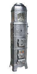 Art-Déco Ofen Nr. 203 - Ausdrucksstarke Ornamentik verzieren den Art-Déco-Ofen